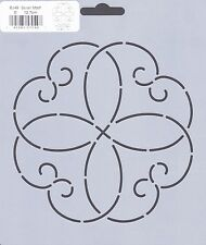 Quilting Stencil Template - Scroll Motif - Made in the US
