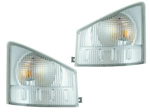 For Corner Signal Lamp 08-13 NPR NQR 08-10 W4500 W5500 Pair Passenger Driver