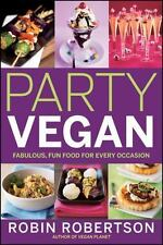 NEW - Party Vegan by Robertson, Robin