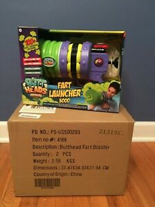 WowWee Fart Launcher 3000 Butt Heads Blaster Gun IN HAND XMAS delivery available