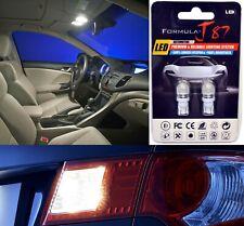 LED 5050 Light White 5000K 168 Two Bulbs Rear Side Marker Parking Stock Lamp