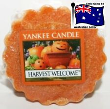 YANKEE CANDLE Tart Melt * Harvest Welcome  * FREE Postage for ADDITIONAL TARTS