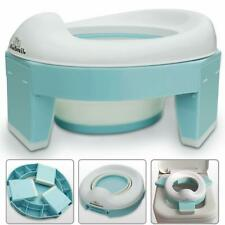 3-in-1 Go Potty for Travel, Portable Folding Compact Toilet Seat,Potty Training