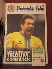 EINTRACHT BRAUNSCHWEIG,Eintracht - Echo,2.Bundesliga,2017/18,Nr. 8, FC Nürnberg