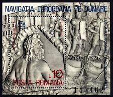 1328 Romania 1977 Danube Commission Block MNH