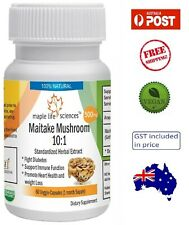 Maitake Mushroom 10:1 Extract (Grifola Frondosa) - 500mg - Immunity - AU Stock