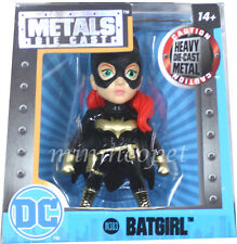 "JADA 84318 2.5"" DC COMIC GIRLS METALS DIECAST ACTION FIGURE BATGIRL M383 BLACK"