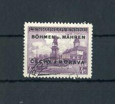 Böhmen & Mähren Nr.14 gestpl. 2Kc. Aufdruckwert ME 24,-++ !!! (115639)