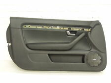 Audi A4 B6 B7 Cabriolet NS Left Front Black Leather Door Card
