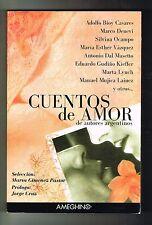 Marta Gimenez Pastor Cuentos De Amor De Autores Argentinos Argentina 1st Editio