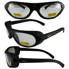Global Vision Rawhide Clear Lens ANSI Z87.1+ Safety Glasses w/ Side Buffers