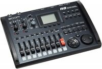 ZOOM R8 multi-track recorder 2-track recording 8-track playback simultaneous