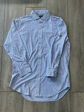 Secession Golf Club Polo Ralph Lauren Performance Oxford Dress Shirt M EUC