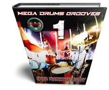 MEGA DRUMS GROOVES 1 - LARGE STUDIO LIBRARY Samples/Kits/Loops/Performances 8GB