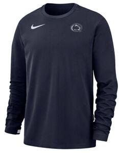 Nike Men's Penn State PSU Football Performance Top Crew Sweatshirt Large L