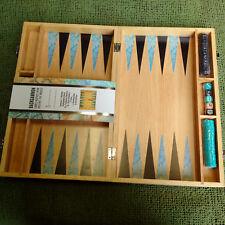 Traditional Classic Backgammon wooden box set