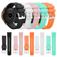 For Samsung Galaxy 42mm 46mm Silicone Watch Band Strap Replacement Bracelet