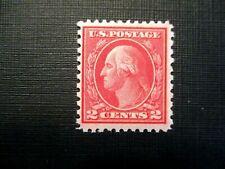 1919 US S# 540, 2c Washington, carmine rose, type III STAMP, MNH OG f+