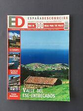 Nº 80 07/2002 - ED ESPAÑA DESCONOCIDA Cerdanya Playas Menorca Plazas Manchegas