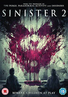 SINISTER 2 DVD Shannyn Sossamon James Ransone Ciaran Foy UK Release New R2