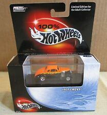 100% Hot Wheels Metal Collection 1937 Chevy car 1:64 diecast Limited Edition NEW