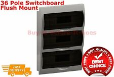 36 Pole Distribution Board Flush Mount Switchboard Electrical Wholesale Bulk