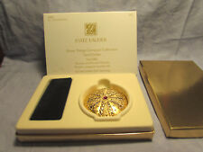 ESTEE LAUDER COMPACT SHORE THINGS SAND DOLLAR LUCIDITY NEW PRESSED POWDER GOLD