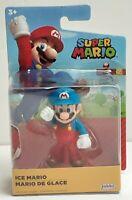 "World of Nintendo Ice Mario 2.5"" Super Mario Figure Jakks Pacific Wave."