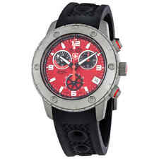 Swiss Military Rallye GMT Chronograph Red Dial Men's Watch 2748
