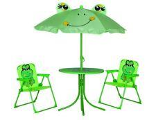 SIENA GARDEN 672614 Froggy Kinderset Frosch Sitzgruppe Kinder-Garnitur