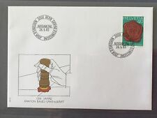 SWITZERLAND 1983 FDC FIRST DAY COVER HELVETIA - BASEL CANTON 150 years 26.5.1983