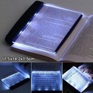 LED Book Reading Night Light Portable Travel Panel Led Lamp