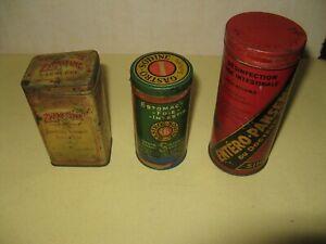 PHARMACIE - LOT de 3 ANCIENNES BOITES de MEDICAMENTS