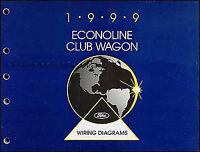 1990 Ford Econoline Van E150 E250 Wiring Diagram Schematic Sheet Service Manual Ebay