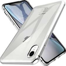 iPhone XR Hülle Silikon Schutzhülle Klar Transparent Durchsichtig Slim Fit Case