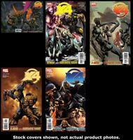 X-Men/Fantastic Four 1 2 3 4 5 Complete Set Run Lot 1-5 VF