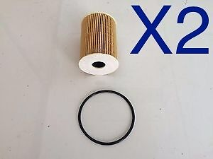 2x New OIl Filter Suits R2658P HOLDEN Captiva CG Cruze JG Epica EP DIESEL