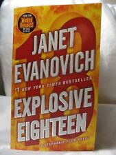 PAPERBACK NOVEL EXPLOSIVE EIGHTEEN Janet Thriller ACTION Fiction 2012 BOOK USA