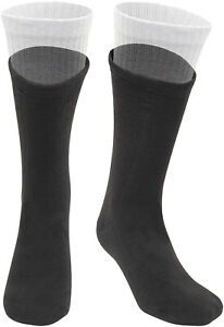 Polar Fleece Boot Over Sock Liners Warm Comfy Cold Weather Feet Protection