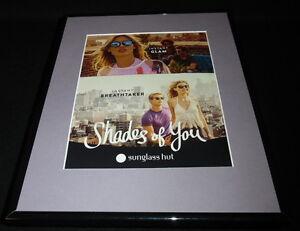 Sunglass Hut 2016 Framed 11x14 ORIGINAL Advertisement