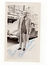 Frank Albertson IAWL Its A Wonderful Life Psycho Hand Signed Candid BW Photo COA