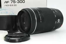 【ALLMOST UNUSED in BOX】Minolta AF Zoom Macro 75-300mm f4.5-5.6 Sony A Mount 1038