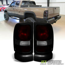 1994-2001 Dodge Ram 1500 2500 3500 Red Smoke Tail Lights Brake Lamps Aftermarket