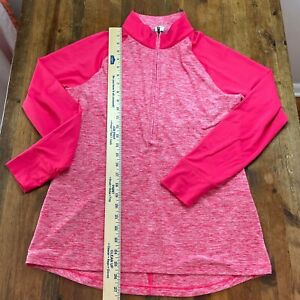 Under Armour 1/4 Zip Long Sleeve Pullover Top Women's Size L