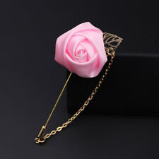 Wedding Flower Corsage Lapel Pin Brooch Suits Boutonniere Suit Stick Pins