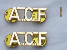 ARMY CADET FORCE , insignes d'ÉPAULE, Annexe, British Army, Anodisé Aluminium