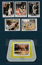 Comores république  jeux olympique  Los Angeles  1984  PA et BF  **