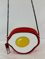 ** CIRCUS BY SAM EDELMAN EGG Design Leather Cross body Bag Msrp $50.00