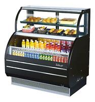 "Turbo Air 39"" Combination Open Display Refrigerator Merchandiser Case TOM-W-40S"