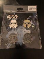 Disney Pin Star Wars Rogue One 2017 Imperial Helmets Set of 4 Stormtrooper Pilot